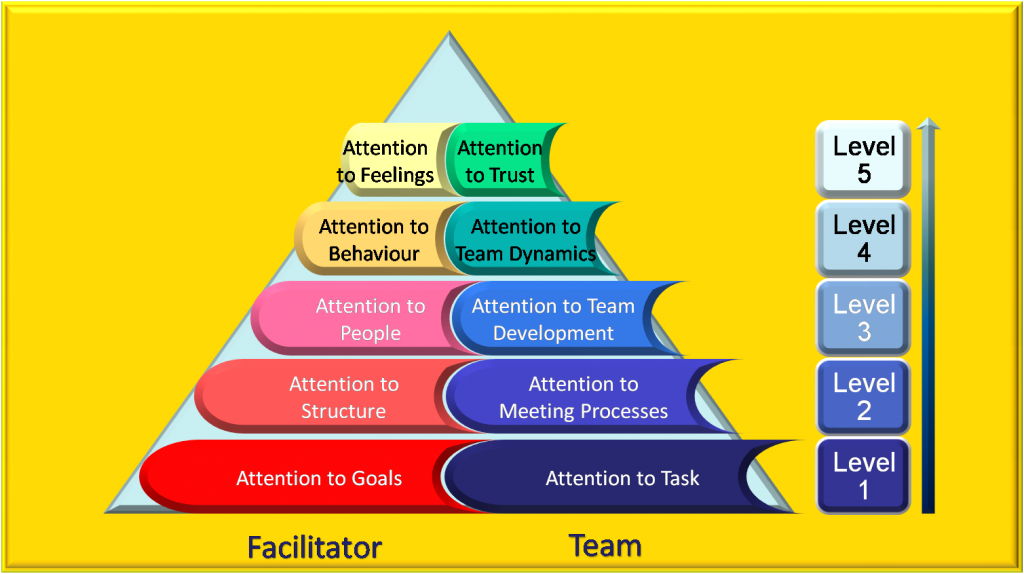 facilitator A person who helps a group to have an effective dialog without taking any side of the argument, especially in order to reach a consensus facilitator.